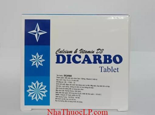 Thuốc Dicarbo bổ sung calci và vitamin D cho cơ thể (3)
