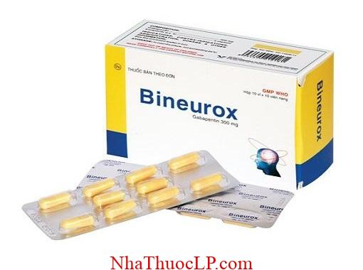 Thuoc Bineurox 300mg Gabapentin chong co giat (1)