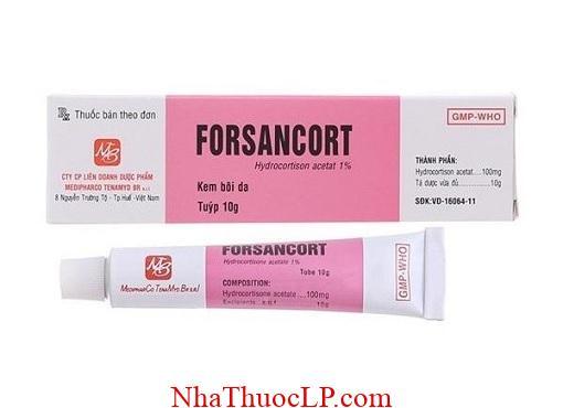 Thuoc Forsancort 100g Hydrocortisone dieu tri benh da lieu (3)