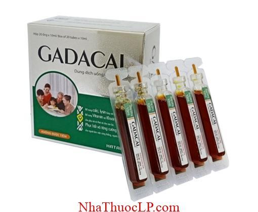 Thuoc Gadacal bo sung Khoang chat Va Vitamin cho co the (1)