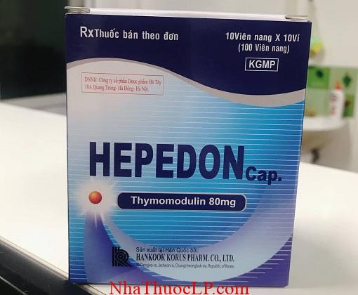 Thuoc Hepedon 80mg Thymomodulin dieu tri suy giam mien dich (2)