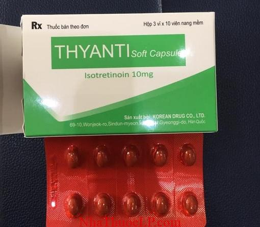 Thuoc Thyanti 10mg Isotretinoin dieu tri mun trung ca (1)