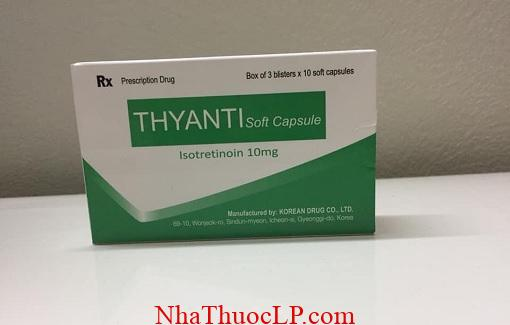 Thuoc Thyanti 10mg Isotretinoin dieu tri mun trung ca (2)