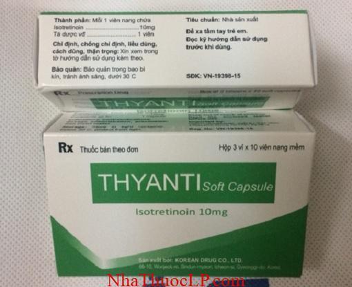 Thuoc Thyanti 10mg Isotretinoin dieu tri mun trung ca (3)