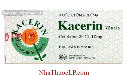 Thuoc Kacerin dieu tri di ung