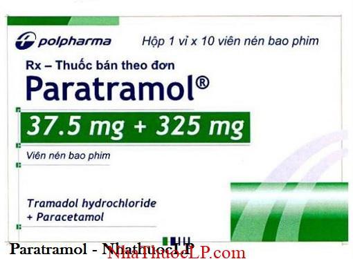 Thuoc Paratramol dieu tri giam dau