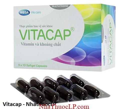 Vitacap bo sung vitamin va khoang chat