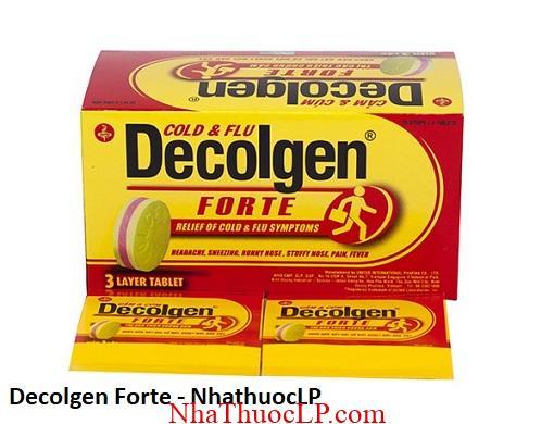 Thuoc Decolgen Forte dieu tri giam dau ha sot 1