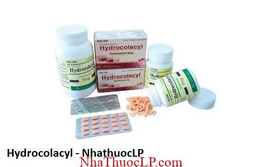 Thuoc Hydrocolacyl dieu tri cac tinh trang di ung