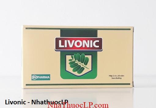 Thuoc Livonic dieu tri cac benh ve gan mat than 1