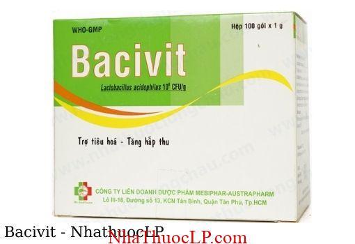 Thuoc Bacivit dieu tri tieu chay