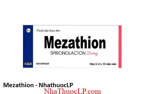 Thuoc Mezathion dieu tri suy tim