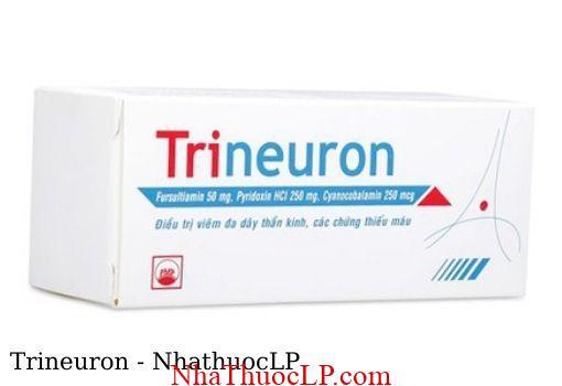 Thuoc Trineuron dieu tri thieu Vitamin nhom B 1
