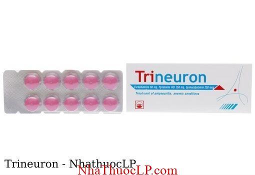 Thuoc Trineuron dieu tri thieu Vitamin nhom B