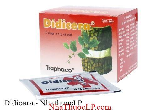 Thuoc Didicera dieu tri dau nhuc xuong khop