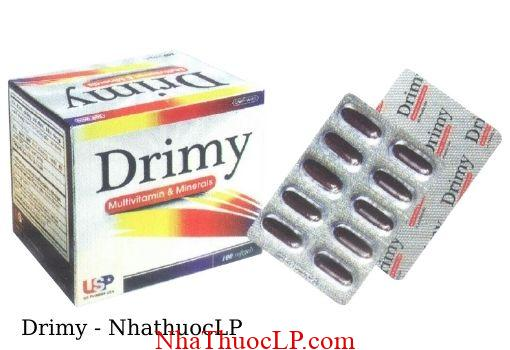 Thuoc Drimy bo sung vitamin va khoang chat 1