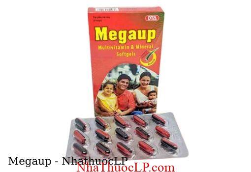 Thuoc Megaup bo sung vitamin va khoang chat