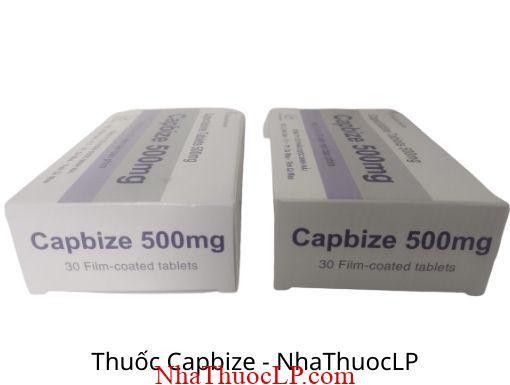 Tác dụng phụ của Capbize