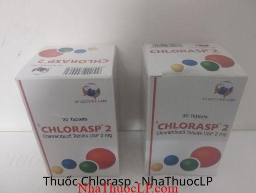 Tác dụng phụ của Chlorasp