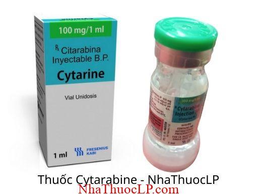 Công dụng & Chỉ định Cytarabine