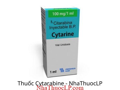 Thuoc Cytarabine 100mg:ml