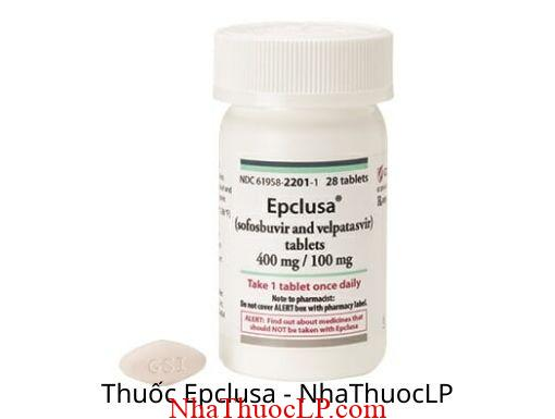 Tác dụng phụ của Epclusa