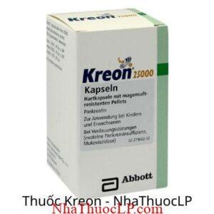 Thuoc Kreon 25000IU Pancreatin 1