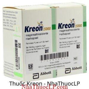 Thuoc Kreon 25000IU Pancreatin 2