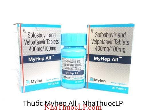 Thuoc Myhep All (Sofosbuvir + Velpatasvir) 2