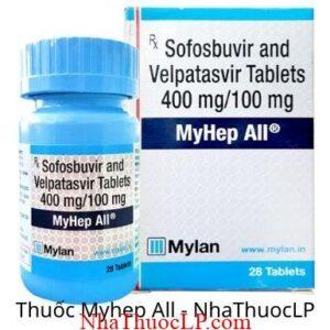 Thuoc Myhep All (Sofosbuvir + Velpatasvir)