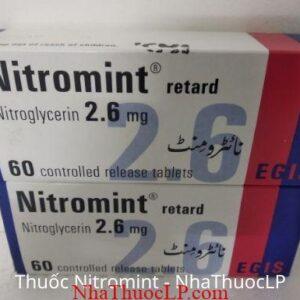 Thuoc Nitromint 2,6mg Nitroglycerin 1