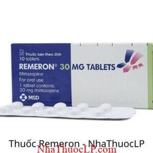Thuoc Remeron 30mg Mirtazapine