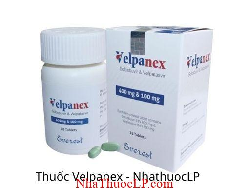 Thuoc Velpanex (Sofosbuvir + Velpatasvir)