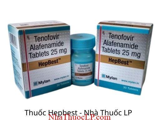 Thuoc Hepbest 25mg Tenofovir 1