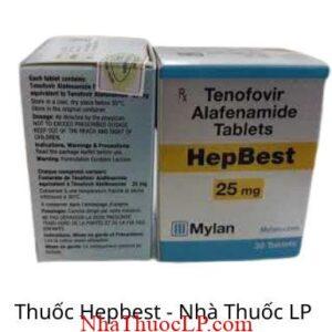 Thuoc Hepbest 25mg Tenofovir 2