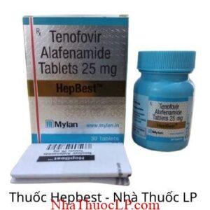 Thuoc Hepbest 25mg Tenofovir